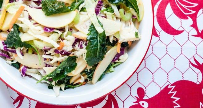Cynthia Graubart's Apple Kale Coleslaw