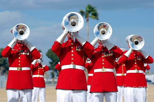 The U.S. Marine Corps Band, scheduled for several appearances during Kewanee's Hog Days Labor Day celebration, was forced to cancel as the soldiers respond to Hurricane Ida on the Gulf Coast.