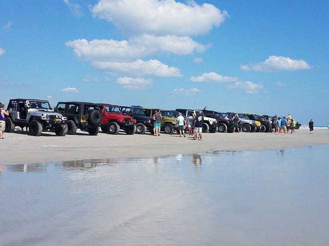 Jeep owners will cruise through Topsail Island in September with assistance  from the area's Chamber of Commerce.