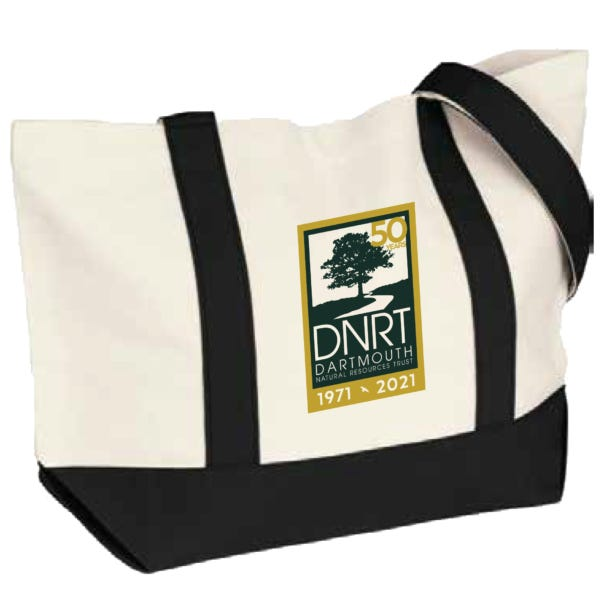 Win an exclusive DNRT canvas boat tote bag.