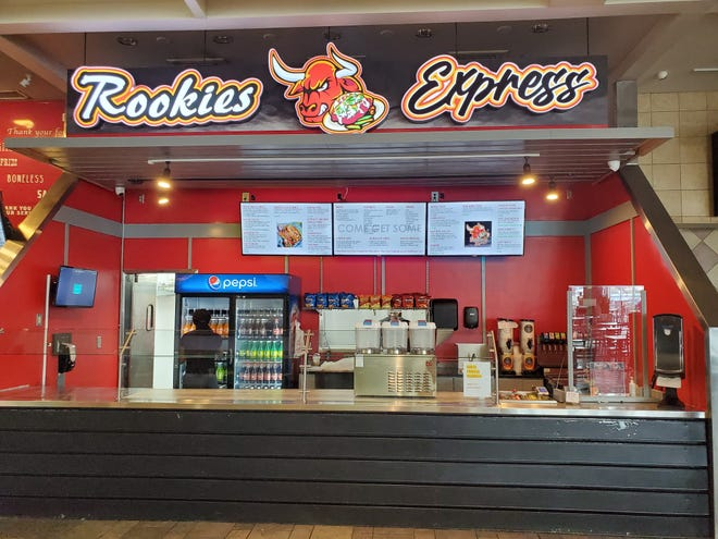 Rookies Express opened inside the Cross Creek Mall in Fayetteville on Aug. 9, 2021.