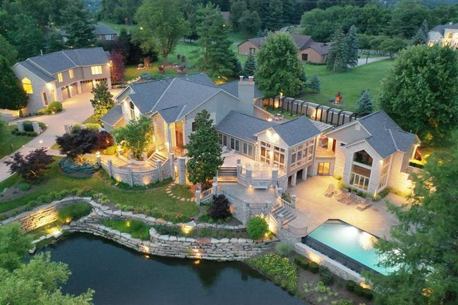 This property at 875 Squire Oaks Drive in Villa Hills recently hit the market for $2.95M