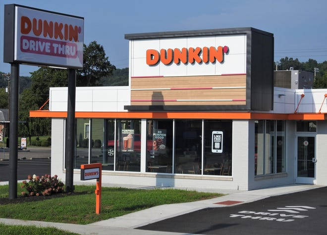 Dunkin' Donuts of Coshocton has been open about 10 weeks, but had a grand opening on Wednesday. The store employs about 38 people and can seat 30, with a drive-thru.
