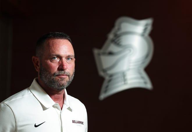 Former DeSales High School football coach Harold Davis has been named the new Bellarmine Sprint Football coach in Louisville, Ky. on Aug. 25 2021.