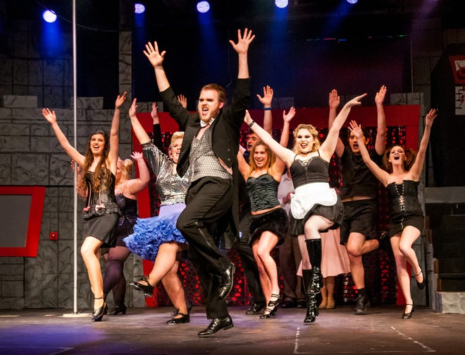 """The cast of """"The Rocky Horror Picture Show"""" performs last season at the Ohio State University-Mansfield campus. The theatre department will kick off this season on Sept. 11."""