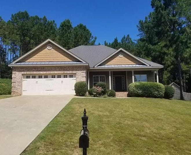 A four bedroom, two-bath home located at 214 Southern Hills Ridge in Brookwood is on the market for $274,900 and provides 1,814 square feet of living space.