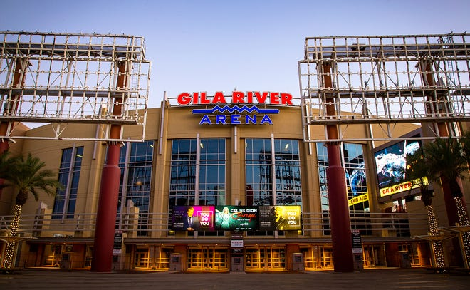 The NHL's Arizona Coyotes will play their last year in Glendale's Gila River arena this year.