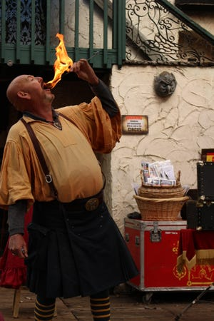 The Kansas City Renaissance Festival kicks off Labor Day weekend and is open every weekend through Oct. 11.