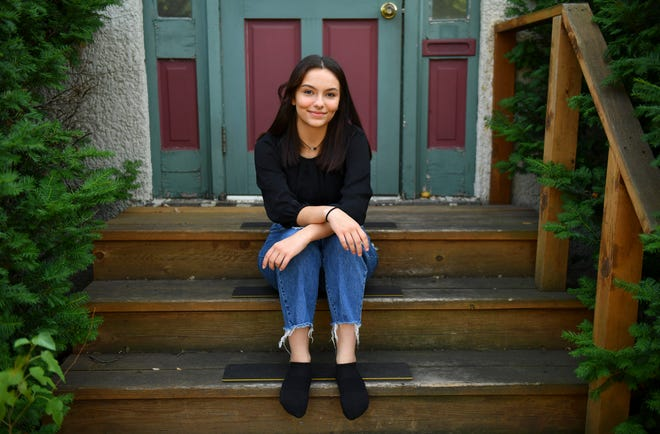 Spotlight Education Triple Threat Award recipient Grecia Lopez is pictured Monday, Aug. 16, 221, in St. Cloud.