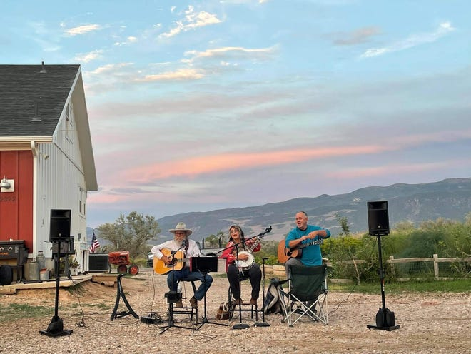 The Cedar City Arts Council's third Final Friday Art Walk of the season is Aug. 27. Coyote Bluegrass, the musical group pictured in this submitted photo, is one of the scheduled participants.