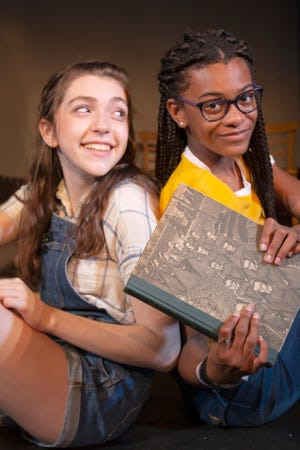"""Young Actors Theatre is premiering """"Crossing Jordan,"""" a Tallahassee story that explores racism, friendship, and our history through the eyes of two young girls. Based on the book by local author Adrian Fogelin, it stars Raa Middle School Student Jiselle Lockhart, Leon High School Student Mallory Greisl and Avis Berry, celebrated vocalist, Gilchrist Elementary School teacher, and FSU Librarian."""