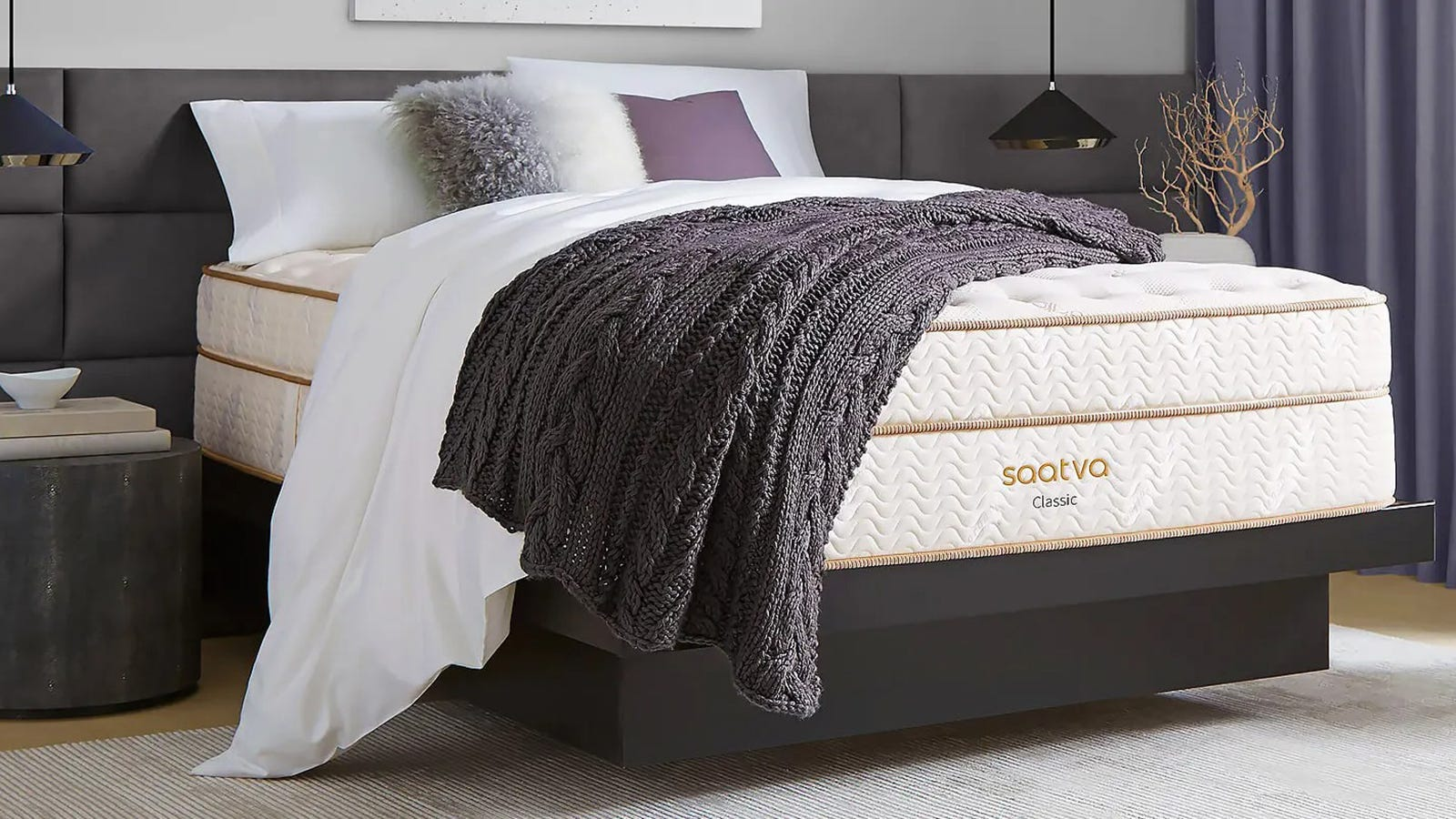 Save big on the best-selling Saatva mattress for today only