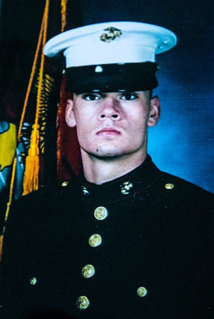 Sgt. Matthew Adams, Amanda Walters' brother, died in a training accident.