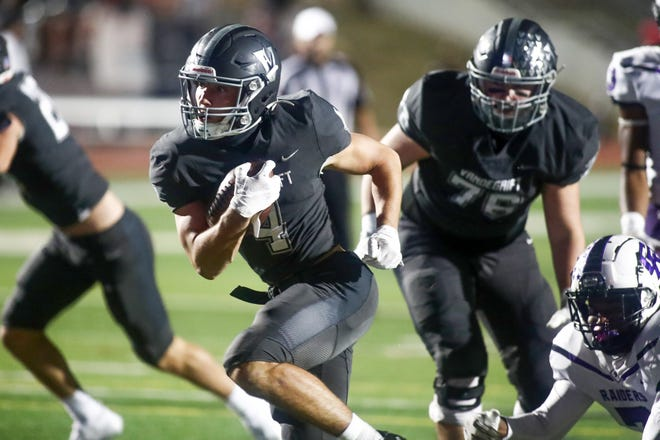 Vandegrift running back Ryan Sheppard could carry a heavy load in Friday's season-opening showdown against Leander school district rival Cedar Park.