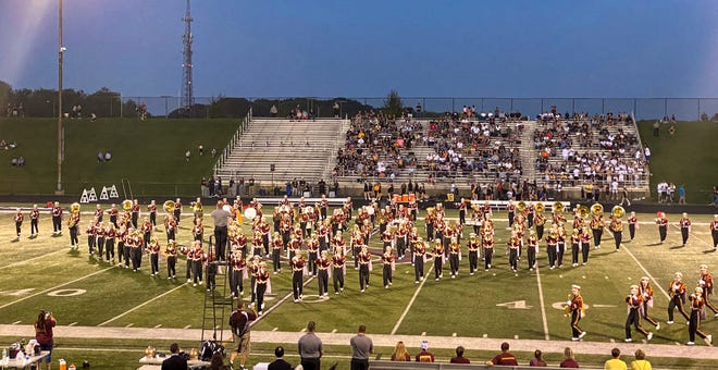 The Stow-Munroe Falls Bulldog Marching Band will host its Band Show on Saturday, Sept. 18 at 7 p.m. in Bulldog Stadium, 3227 Graham Road, Stow.