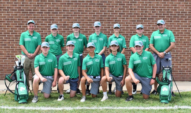Pictured is the Barnesville High School Varsity Golf team.