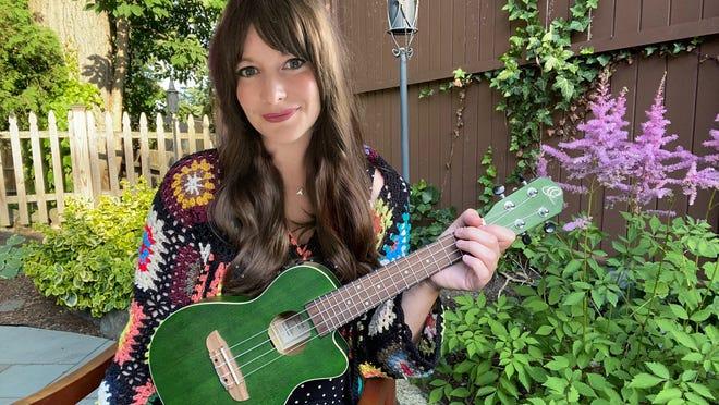 "Medford mom Lindsay Munroe released children's album 'Frogs and Birds"" this summer."