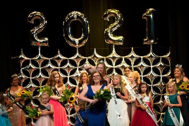 Sierra Marie Bonn was crowned Miss El Dorado 2021.