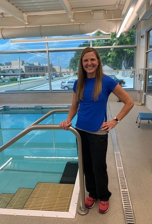 Pictured is Erika Sepich Leighton, a physical therapist with Graham Medical Group.