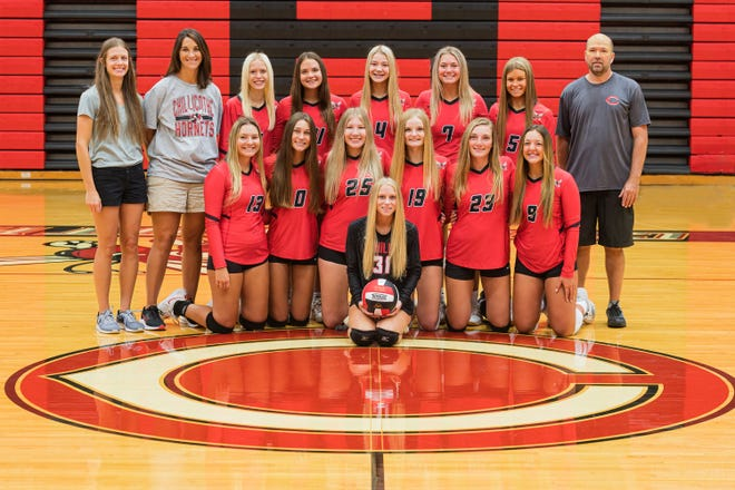 2021 Chillicothe High School volleyball Lady Hornets varsity