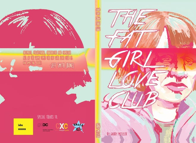 """Cover art for """"The Fat Girl Love Club"""""""