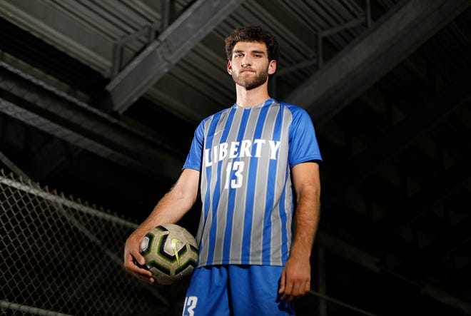 Olentangy Liberty soccer player Parker Cameron is expected to return in early October after having knee surgery this offseason.