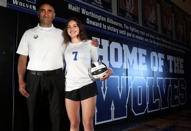 Kilbourne senior volleyball standout Zeynep Yildiz is following in her father Vedat's footsteps as a player and as a referee. Vedat Yildiz  played professionally in Turkey and now serves as a referee for the OHSAA as well as USA Volleyball.