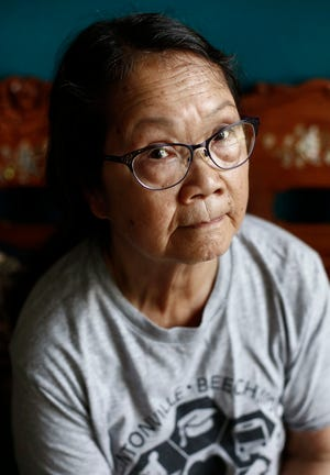 Nga Nguyen, 76, was working with the U.S. Agency for International Development in Saigon when the city fell to communist forces in 1975. The similarities between her experience then and what is happening now in Afghanistan worry her.