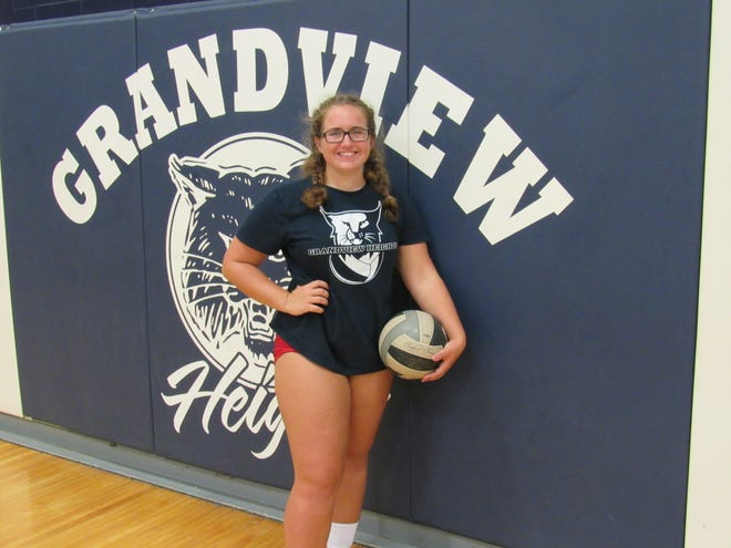 Senior setter Taylor Sanzo expects to be a calming influence on the court for a sophomore-laden Grandview Heights girls volleyball team.