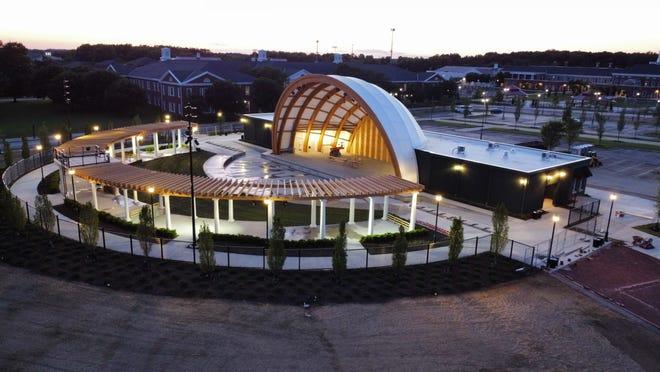 The Charleen & Charles Hinson Amphitheater