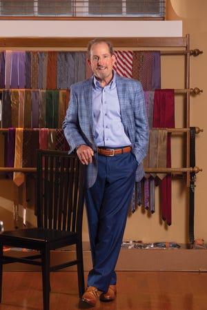 Jim Rieser, executive clothier at Hunter & Lords