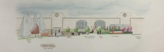 Drawing by Serge Vandervoo. Original plan from 2013-2014 school year.