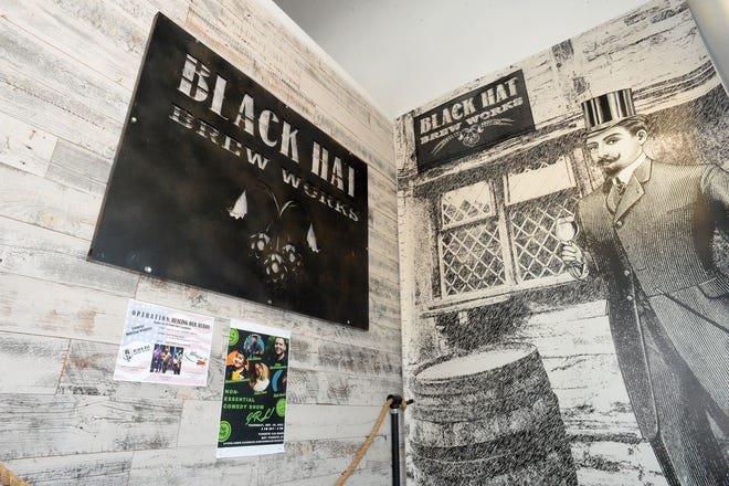 Black Hat Brew Works in Bridgewater on Wednesday, Aug. 25, 2021.