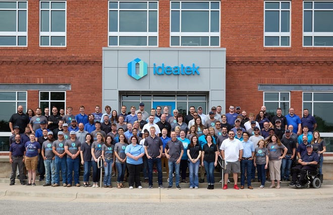 IdeaTek of Buhler has grown to more than 120 employees. IdeaTek's service area now reaches from Strong City to Liberal.