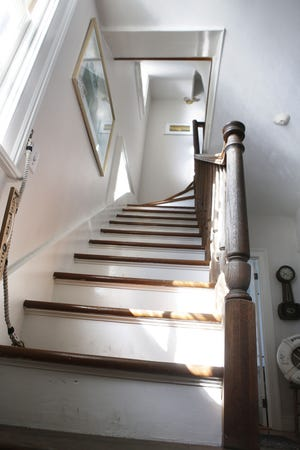 Guests at Rose Island have reported hearing the steps of lighthouse keeper Charles Curtis on the staircase late at night.