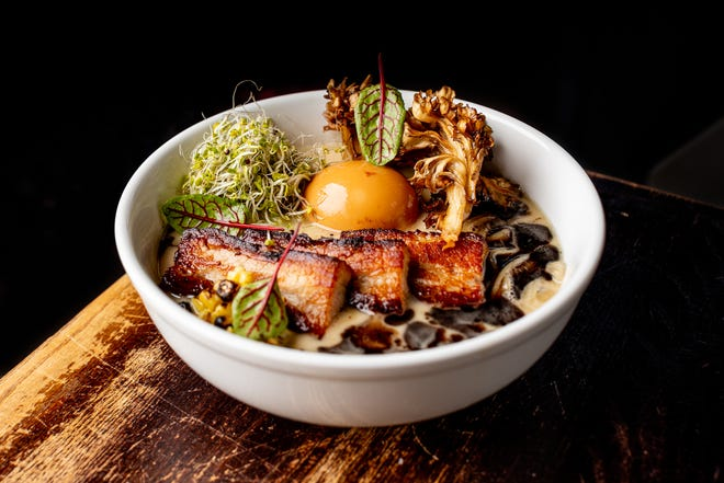 Yagi Noodles' tonkotsu is a far cry from the ramen people are used to eating out of a Styrofoam cup.