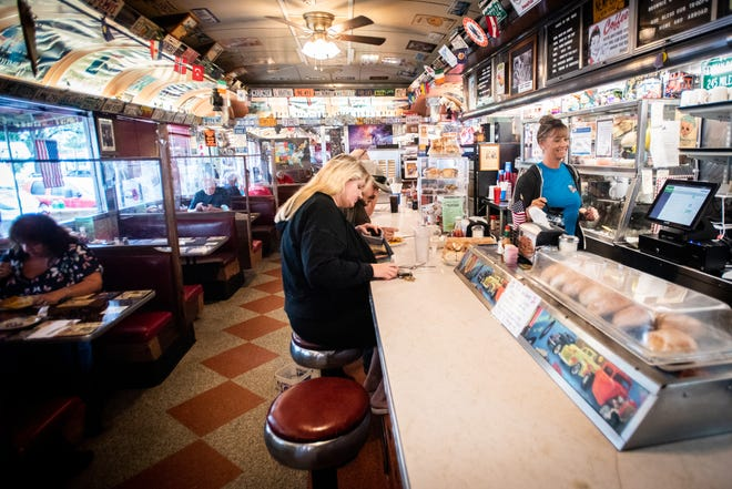 Crazy Otto's Empire Diner in Herkimer has been a popular food destination in the Mohawk Valley for decades. Known for various trinkets, including old movie posters and license plates, the diner has plenty of visual decorations indoors to catch someone's attention.