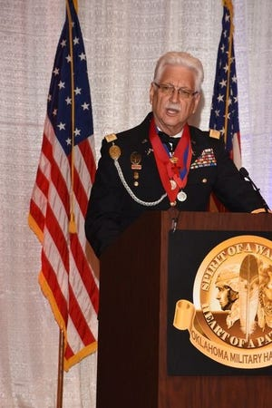 Col. Jerry Shiles, chairman of the Oklahoma Military Heritage Foundation.
