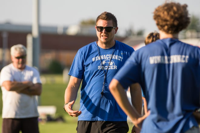 Winnacunnet High School boys soccer coach Nick Rowe is excited about the upcoming season as the Warriors advanced to the program's first Division I state championship game last fall.