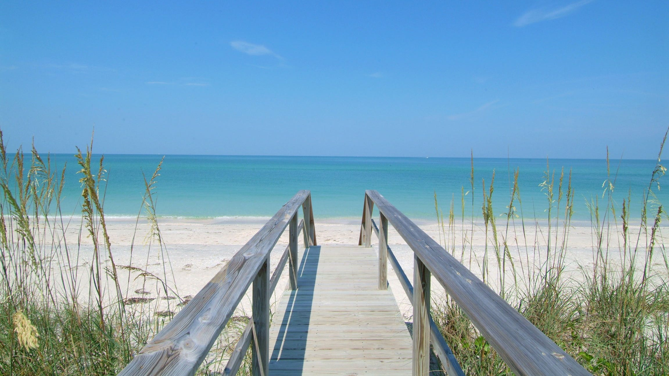 Floridians may want to visit Siesta Key near Sarasota, which has been named the nations' top beach numerous times by Trip Advisor.