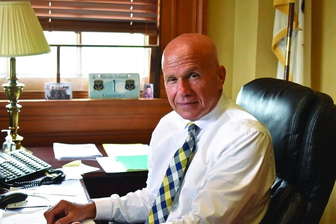 Anthony Silva served as Dan McKee's chief of staff in both the governor's and the lieutenant governor's offices.