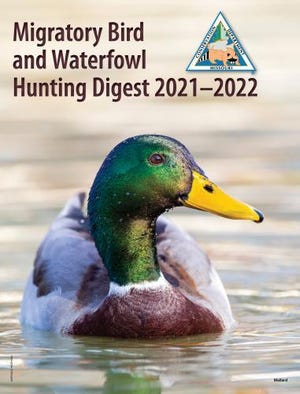 Get details from Missouri Department of Conservation's Migratory Bird and Waterfowl Hunting Digest for 2021 – 2022, available where permits are sold and online at mdc.mo.gov/about-us/about-regulations/migratory-bird-waterfowl-hunting-digest.