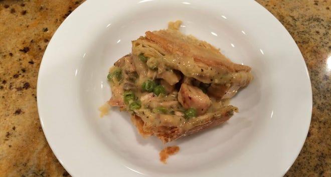 Grilled Chicken Pot Pie