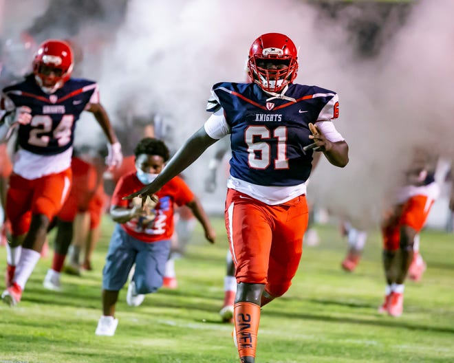 The Vanguard Knights, along with most high school football teams in the state, are ready to blast into the season tonight. Vanguard hosts Gainesville High at Booster Stadium.