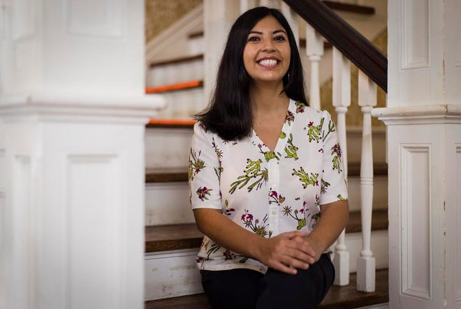 Alejandra Lopez, a San Antonio teacher, works with her colleagues to use critical race theory to inform their teaching.