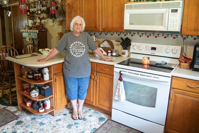 Area Chillicothe resident Donna Johnson won Homemaker of the Year at the Ross County Fair with best of show in yeast breads and also received other first place wins.