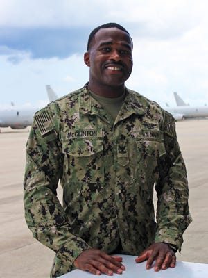 Petty Officer 2nd Class Marcus McClinton