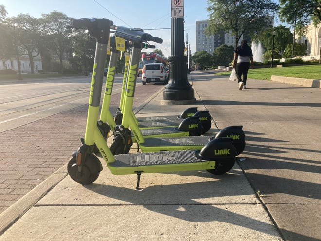 LINK scooters are the fifth e-scooter brand to hit Detroit.