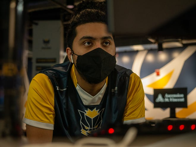 """Pacers Gaming point guard  Enrique Xavier """"630"""" Barazza emerged as the top scorer in the NBA 2k League during his rookie season"""