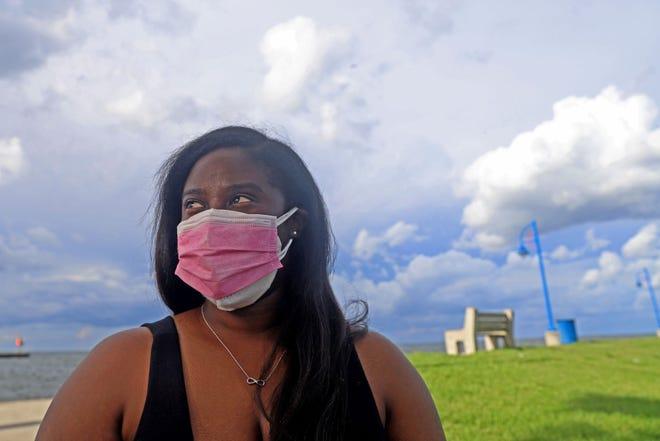Tarlisha Gray, 32, from Thibodaux, Louisiana got sick with COVID-19 in December 2020.